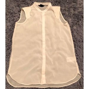 H&M-sheer blouse